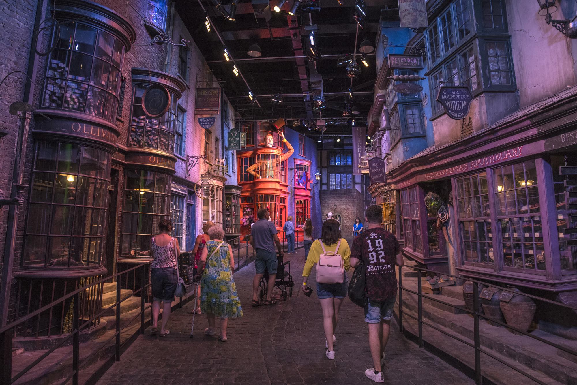 harry potter museum london billetter