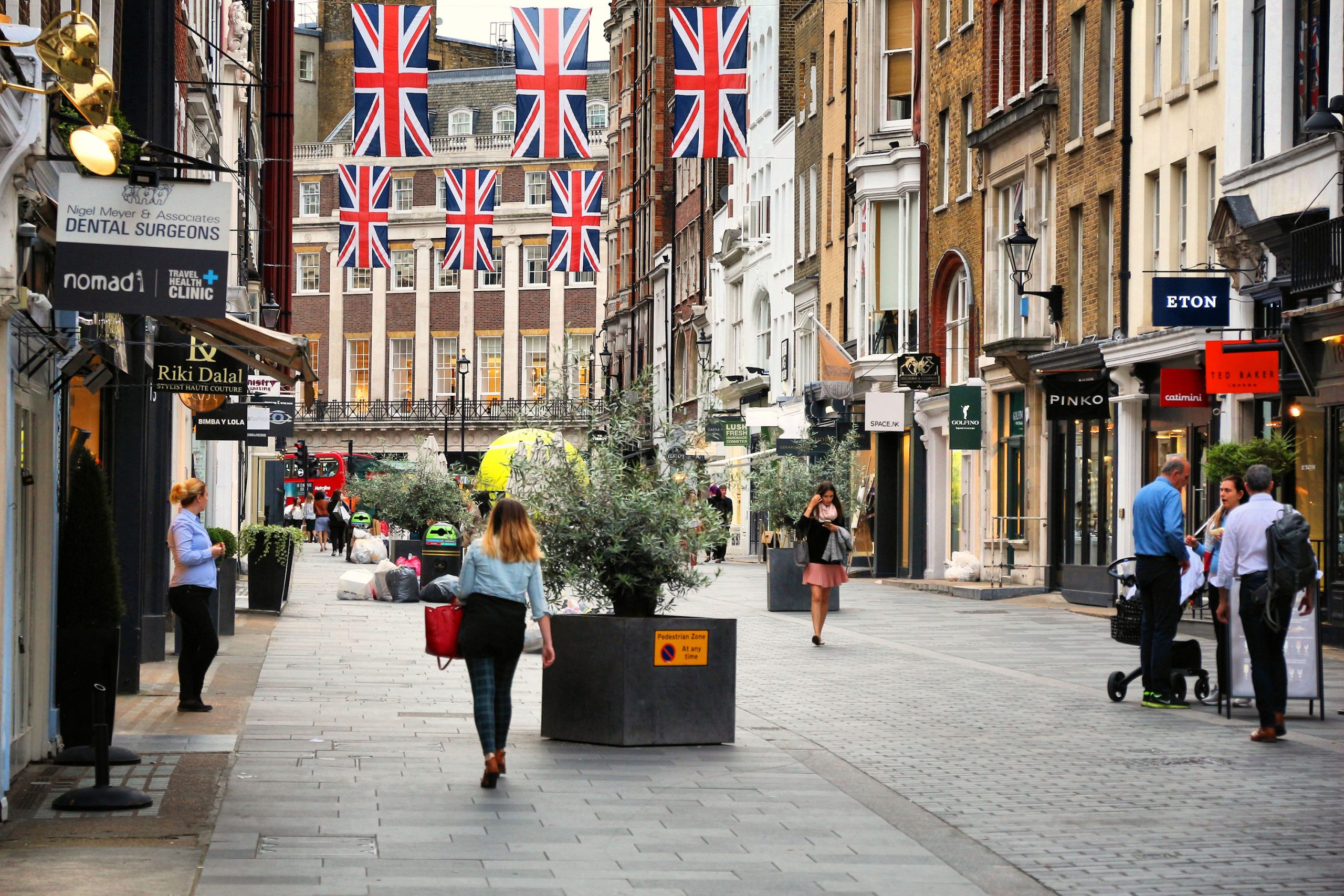 Bond Street London beste shoppinggate tips anbefalt