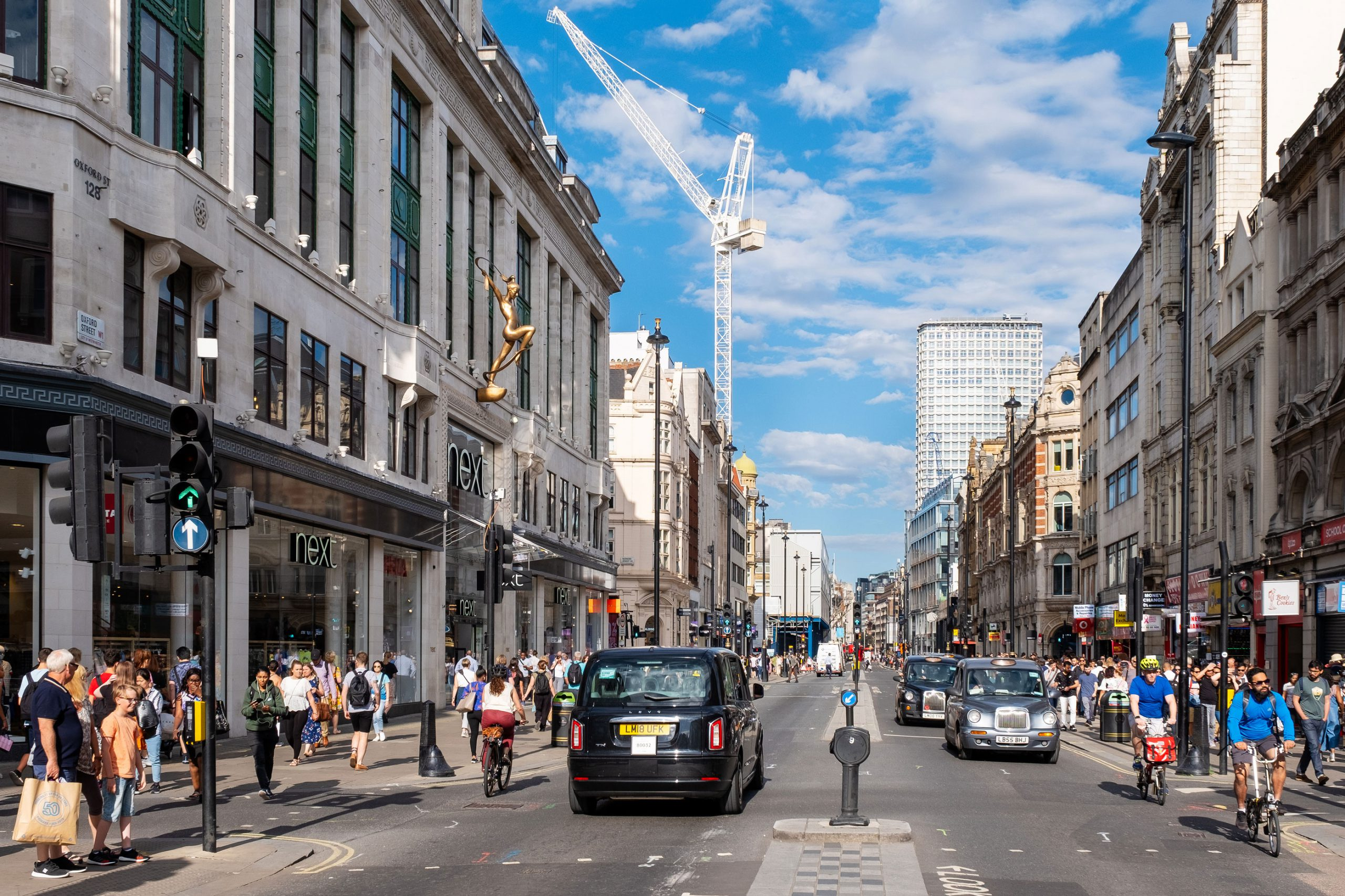 Oxford Street beste handlegate London