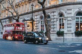 taxi London tipsing driks hvor mye