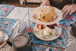 scones te afternoon tea engelsk tradisjonsmat London