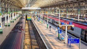 Manchester Piccadilly Station togstasjon London togreise