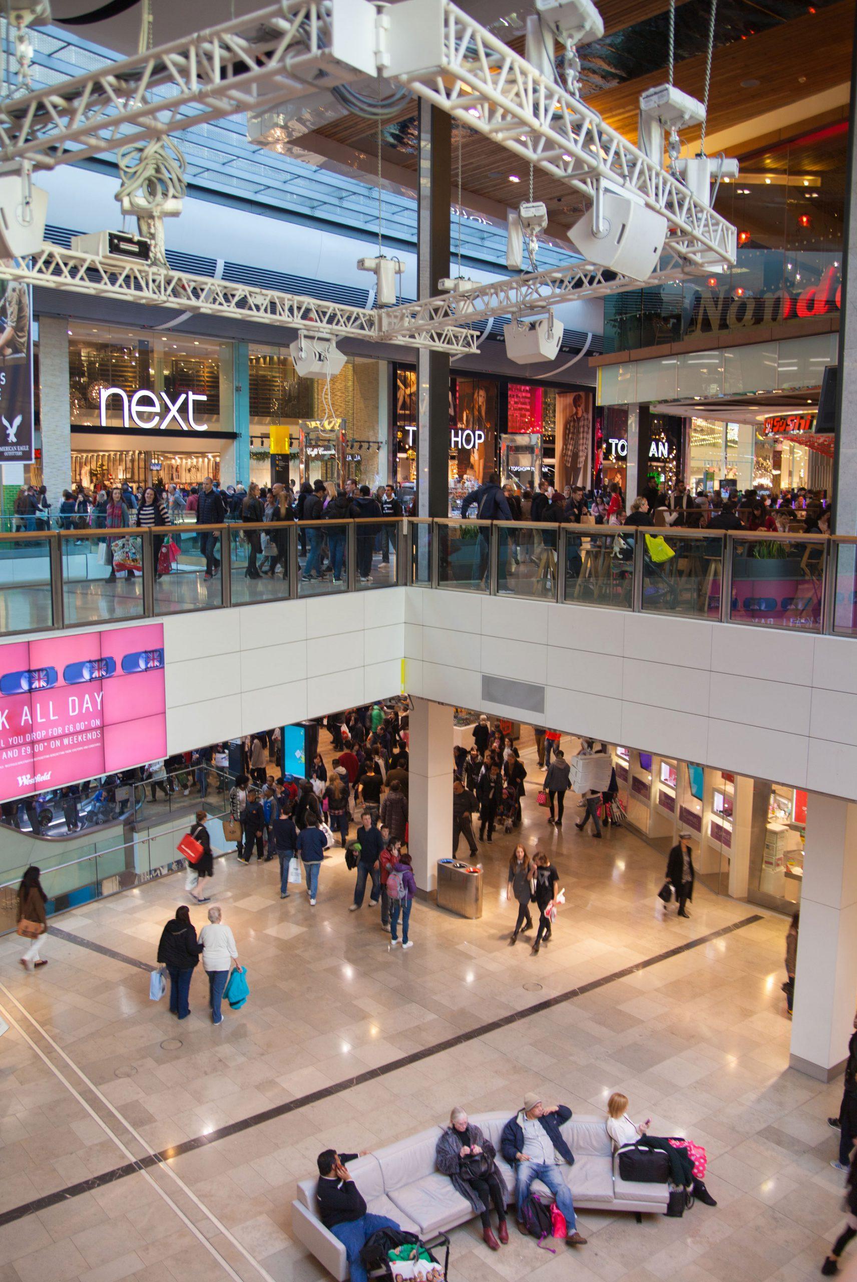 Westfield Stratford City kjopesenter london shopping