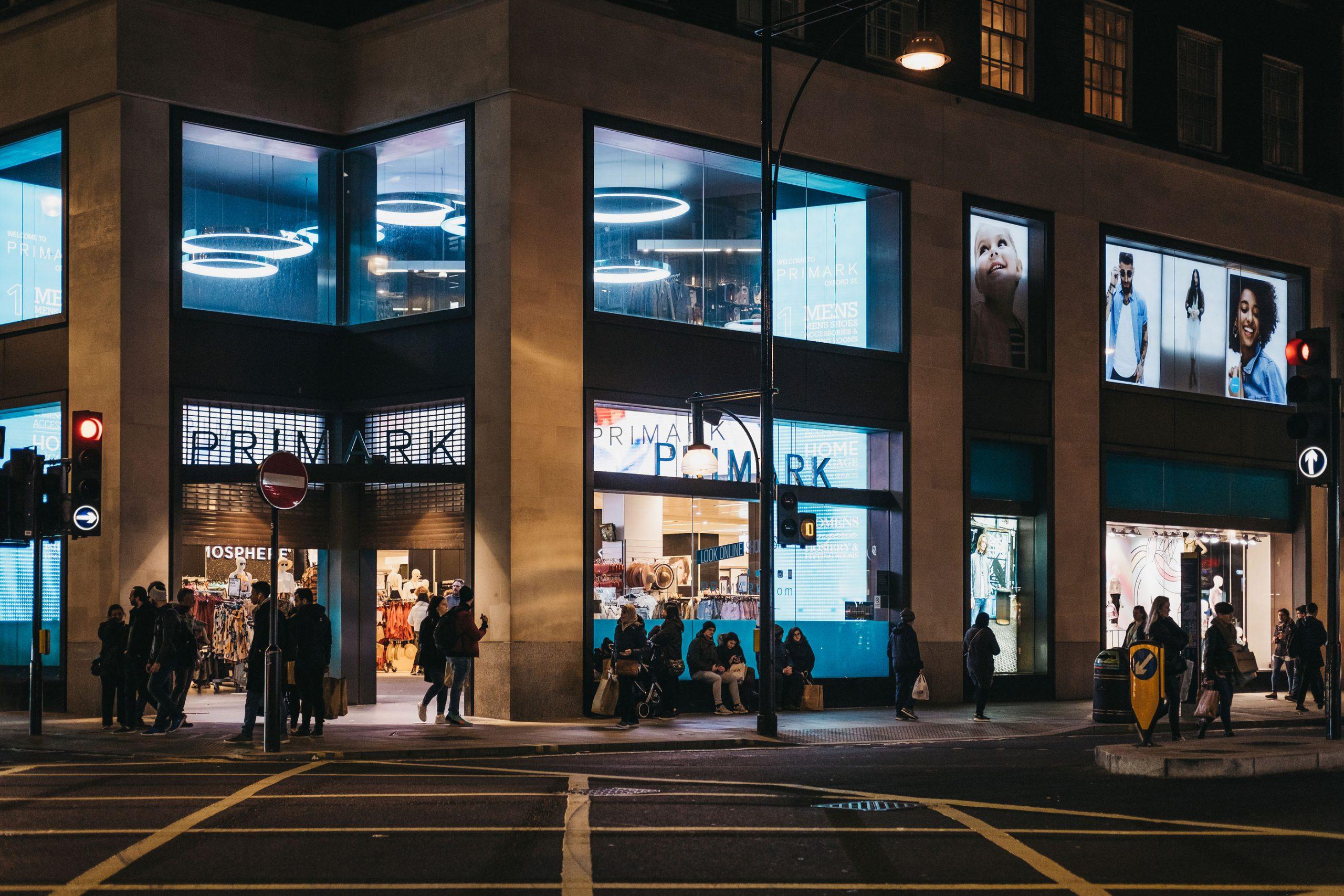 primark butikk oxford street shopping london